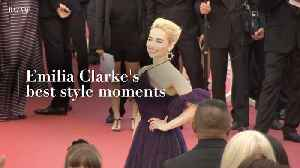 Emilia Clarke's best style moments [Video]