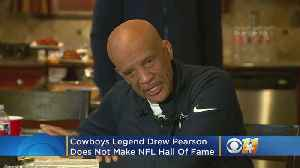 Cowboys Legend Drew Pearson Upset Over Not Making Hall Of Fame After Over 30 Years [Video]