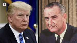 News video: President Trump Says Lyndon B. Johnson Could Be In Hell
