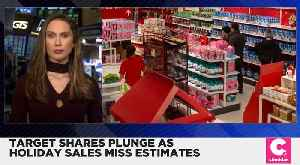 Holiday Sales at Target Miss the Mark [Video]