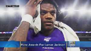 More Awards For Ravens Quarterback Lamar Jackson [Video]