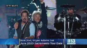 Bon Jovi, Bryan Adams Set June 2020 Sacramento Date For New Tour [Video]