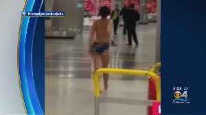 Caught On Cam: Woman Walks Naked Through Miami International Airport [Video]