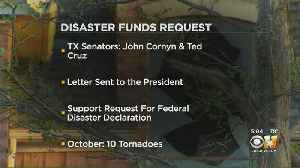 Texas Sens. John Cornyn, Ted Cruz Call On President Trump To Send Disaster Aid To Dallas Area After October Tornadoes [Video]