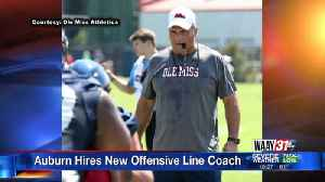Auburn hires new offensive line coach [Video]