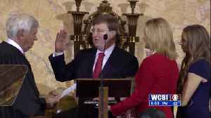 Tate Reeves Inauguration [Video]