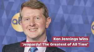 Ken Jennings Is The Current Jeopardy King [Video]