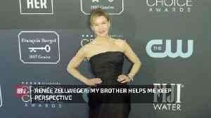 Renée Zellweger Has A Good Brother [Video]