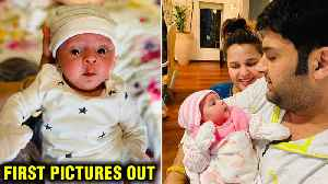 First Pictures Of Kapil Sharma And Ginni Chatrath's ADORABLE Baby Girl Out! [Video]