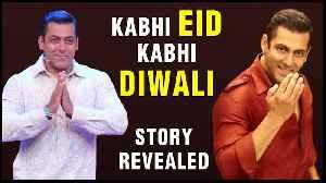 Salman Khan's EID 2021 Movie Kabhi Eid Kabhi Diwali Plot REVEALED! [Video]