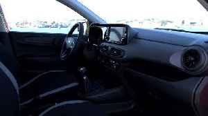 The new Hyundai i10 in Dragon Red Interior Design [Video]
