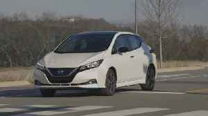 News video: 2020 Nissan LEAF Driving Video