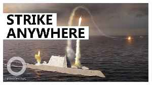 U.S. Navy's new missiles will be strike anyway in an hour [Video]