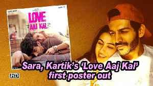 News video: Sara, Kartik's 'Love Aaj Kal' first poster out