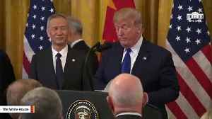 Trump: 'Cryin' Chuck Schumer' Privately Admits China Trade Deal Is 'Unbelievable' [Video]