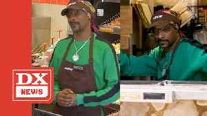 Snoop Dogg Unveils New Dunkin' Donuts Sandwich Called The 'Beyond D-O-Double-G' [Video]