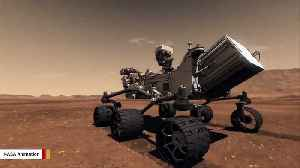 NASA Rover Spies A 'Strange Trough' On Mars [Video]