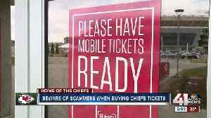 Woman saves all year for Chiefs playoffs tickets only to be scammed [Video]