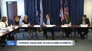 Expiring illegal drug regulation has law enforcement concerned [Video]