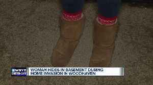 Woman hides in basement during home invasion in Woodhaven [Video]