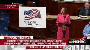 Nancy Pelosi channels Mafia thug in House impeachment speech by quoting 'The Irishman' [Video]