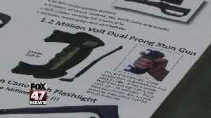 House votes to lift state's ban against stun guns [Video]