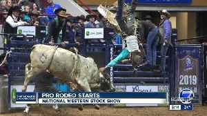 Pro Rodeo stars with new format at National Western [Video]
