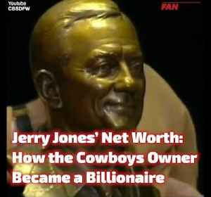Jerry Jones' Net Worth: How the Cowboys Owner Cracked $8 Billion [Video]