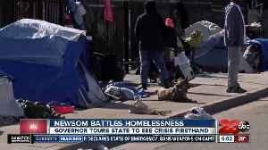 Governor Gavin Newsom battles homelessness [Video]