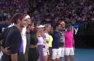 Tennis stars raise money for Australia fire relief [Video]