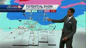 Cold Thursday sets us up for next winter storm Friday [Video]