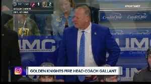 News video: Golden Knights fire head coach Gerard Gallant