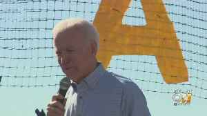 Former Vice President Joe Biden Campaigns In Arlington Tonight [Video]