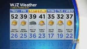 Meg McNamara Has A Look At Your Wednesday Night Forecast [Video]