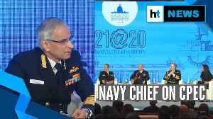 CPEC impinges India's sovereignty: Indian Navy Chief at Raisina Dialogue [Video]