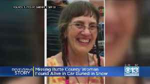 Missing Butte County Woman Found Alive In Car Buried In Snow [Video]