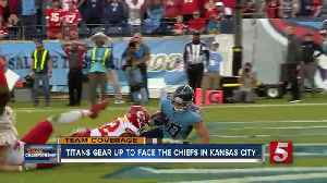 Titans gear up to face the Chiefs [Video]