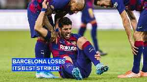 Can FC Barcelona survive without its best striker? [Video]