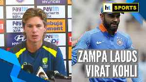 India Vs Australia l Virat Kohli very difficult to bowl at: Adam Zampa [Video]