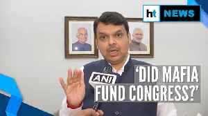 News video: Fadnavis targets Congress over Sanjay Raut's 'Indira Gandhi met don' remark