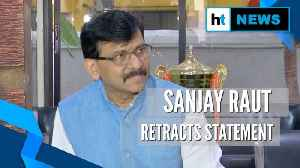 News video: Sanjay Raut retracts Indira Gandhi & Karim Lala remark, clarifies his stand