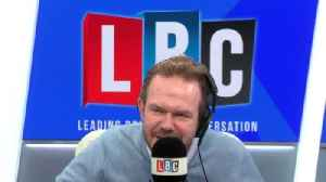 News video: James O'Brien's brilliant response to caller on climate change