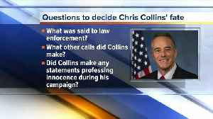 News video: Judge asks if Chris Collins claimed innocence during re-election campaign