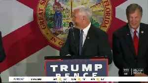 Vice President Mike Pence coming to Tampa for Trump campaign rally [Video]