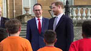 Harry makes first official appearance since decision to quit