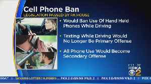 Pa. House Votes To Stop Drivers' Use Of Handheld Phones [Video]