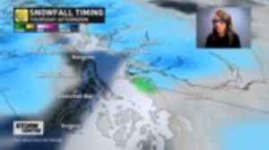 News video: Winter storm continues for B.C. with accumulating snow through Thursday, details here