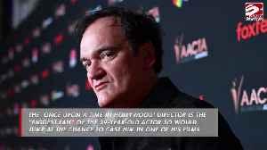 Quentin Tarantino praises Chris Pine [Video]