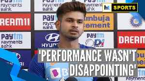 'Performance wasn't disappointing': Shreyas Iyer on 1st ODI loss against Aus [Video]