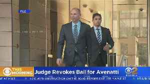 News video: Michael Avenatti Stays Behind Bars After Judge Revokes Bail
